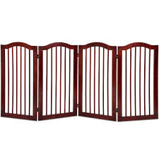 4 Panels Folding Freestanding Wood Pet Dog Safety Gate 11 5ftpatiogazebotentweddingpartyawningmosquitonettingcanopy