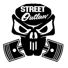 10 2cm 9 8cm Street Outlaw Skull Vinyl Decal Jdm Hella Flush Funny Car Sticker Car Styling Accessories Black Sliver C8 0685 Stickers And Decals For Cars Sticker Albumsticker Black Aliexpress