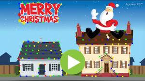 abcya christmas lights video and