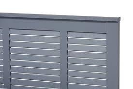 Wholesale Interiors Adela Twin Size Bed ADELAGRAYTWIN Grey | Appliances  Connection