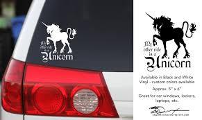 Vinyl Sticker Unicorn Sticker Unicorn Decal Unicorn Car Sticker Car Decal Laptop Sticker Whimsical Sticker Gift For Her