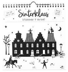 Sinterklaas Aftel En Doe Boek Roos Tijn Designerstore