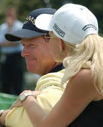In My Mind: Tom Watson's Wife | Hilary Watson | British Open 2009 Turnberry  Live Results
