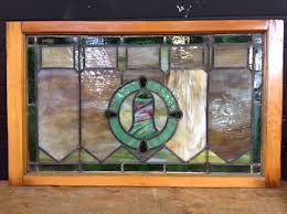stained glass w wood frame featured