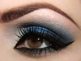 deep blue eyeshadow the best makeup