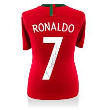 cristiano ronaldo signed portugal shirt