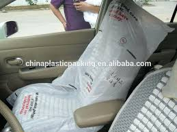 plastic seat covers for vehicles