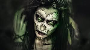voodoo priestess maquillaje