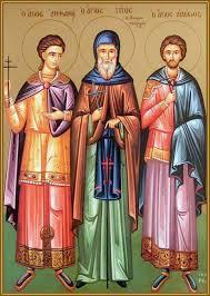 Преподобный Тит чудотворец, иеромонах