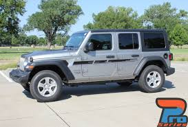 2019 Jeep Wrangler Graphics Mojave And Accents 2018 2020