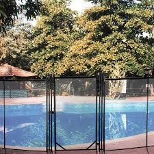Vinyl Works Above Ground Pool Fence Kit 3 Sections In Taupe For Sale Online Ebay