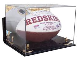 acrylic football display case with