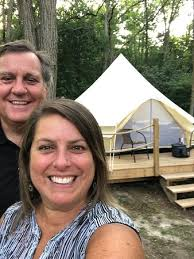 The Ivy Bell tent - Picture of Whispering Springs Wilderness Retreat,  Grafton - Tripadvisor