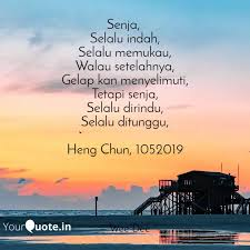 senja selalu indah sel quotes writings by wee dee yourquote