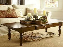 decorating ideas for large coffee table