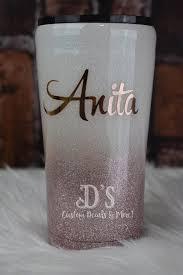 Rose Gold Glitter Tumblers D S Custom Decals More Facebook