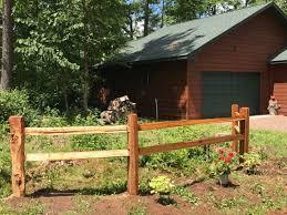 Cedar Split Rail Fencing Weekes Forest Products