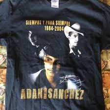 Vintage Adan Sanchez tribute T-shirt. Preowned, good... - Depop