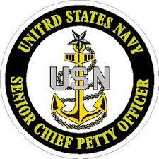 United States Navy Navy Senior Chief Petty Officer Vinyl Sticker At Sticker Shoppe