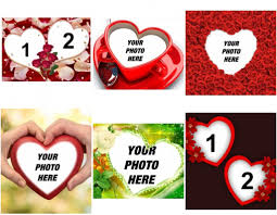 photo frames of hearts photofunny