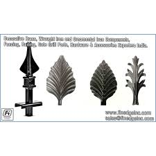 Decorative Wrought Iron And Ornamental Iron Components Fencing Raili By Finedge Inc Trepup Com