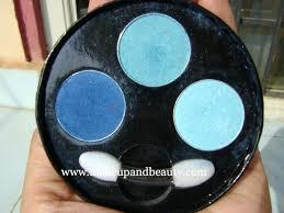 oriflame eyeshadow palette blue