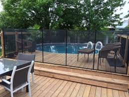 Removable Safety Pool Fence In Gta Pool Fence Ontario Cloture Piscine Enfant Secure