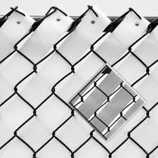 Pexco Fits Common Fence Height Actual 250 Ft X 0 16 Feet Fence Weave Silver Chain Link Fence Weave Lowes Com Black Chain Link Fence Fence Weaving Chain Link Fence