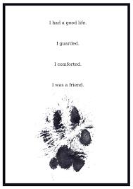 goodbye dog poem com