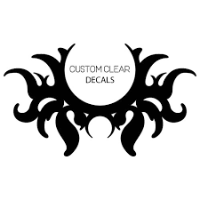 Custom Clear Wall Decals Any Shape Design Gostickers