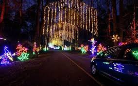 holiday light displays around atlanta