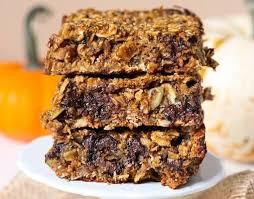 pumpkin granola bars recipe gluten