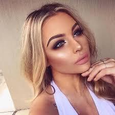 full face summer glow makeup