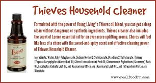 thieves household cleaner real food rn