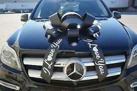 i love you car bow big personalized