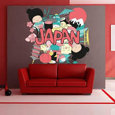 Shop Girls Sun Japan Full Color Wall Decal Sticker K 346 Frst Size 20 X20 Overstock 20901218