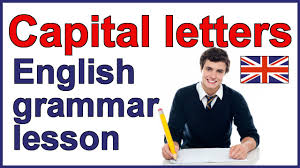 capital letters capitalization rules