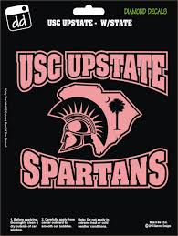 Usc Upstate Spartans In State Decal Vinyl Sticker Car Truck Laptop Suv Window Car Stickers Vinyl Sticker Diamond Decals