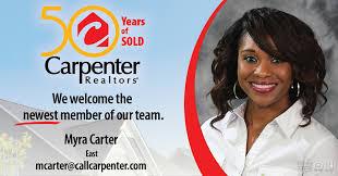 Welcome Myra Carter, a new member of... - Carpenter Realtors | Facebook