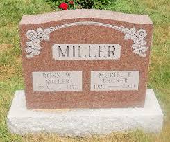 Muriel E. Miller (Becker) (1922 - 2001) - Genealogy