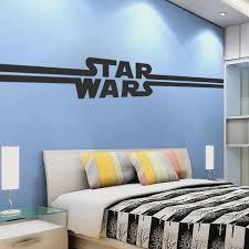 Star Wars Logo Wall Decal Design Kids Room Wall Decor The Last Jedi St American Wall Designs