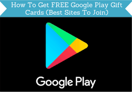 how to get free google play gift cards