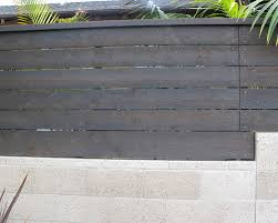Fence Stain For Contemporary Mcm Style Home