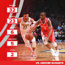 Chris Paul - Stats vs Denver Nuggets ...