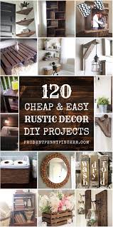 and easy rustic diy home decor