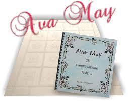 Ava May Candlewicking Book - Margaret's Fabrics