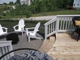 deck paver patio third space builders