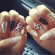 cute acrylic nails 2016
