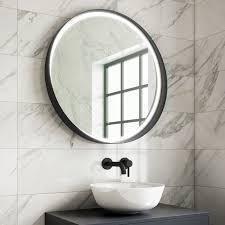 illuminated bathroom mirrors led