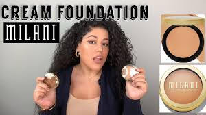new cream foundation from milani